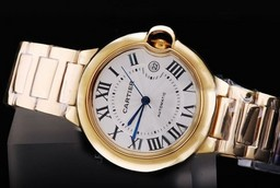 Fake Cool Cartier Ballon Bleu de Cartier Automatic med Golden Ca